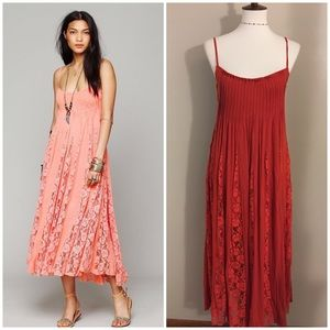 Fp One Victorian Lace Maxi Dress